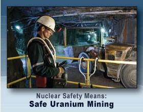 Nuclear Safety Means: Safe Uranium Mining