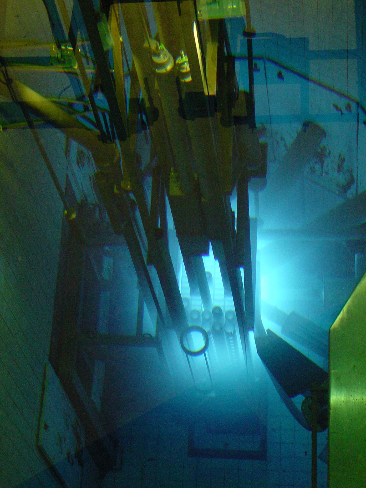 View of McMaster's Nuclear Research Reactor